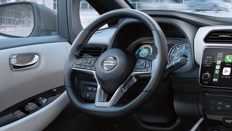 2021 LEAF D Shaped Steering Wheel