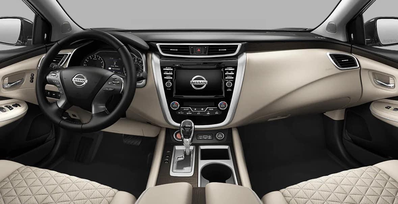 2021 Nissan Murano Platinum Interior Cashmere Semi Aniline Leather