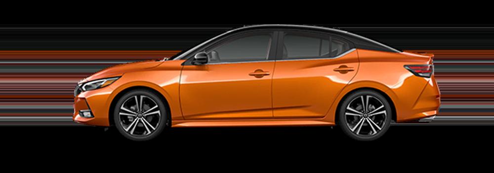 Two-tone Monarch Orange Metallic / Super Black