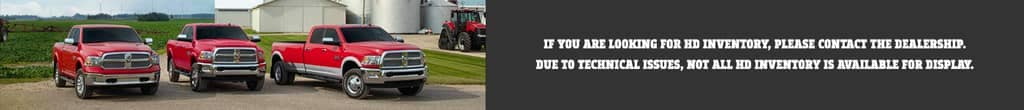 If you are looking for HD inventory, please contact the dealership. Due to technical issues, not all HD inventory is available for display.