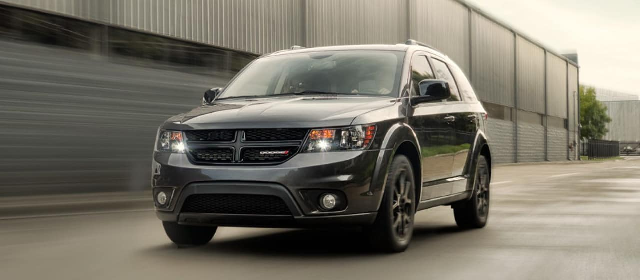 2018 Dodge Journey on road