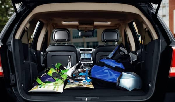 cargo space in 2018 Dodge Journey