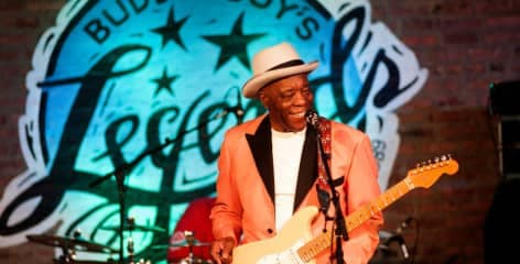 Buddy Guy on stage at Buddy Guy's Legends