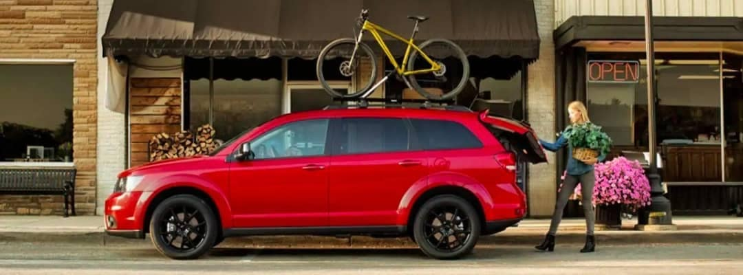 2018 Dodge Journey with accessories
