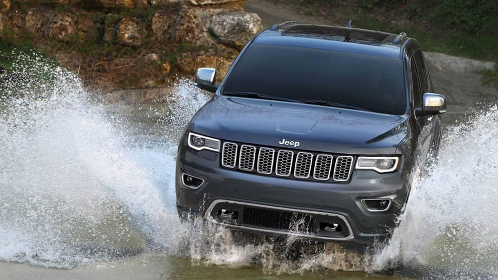 2019 Jeep Grand Cherokee In Water