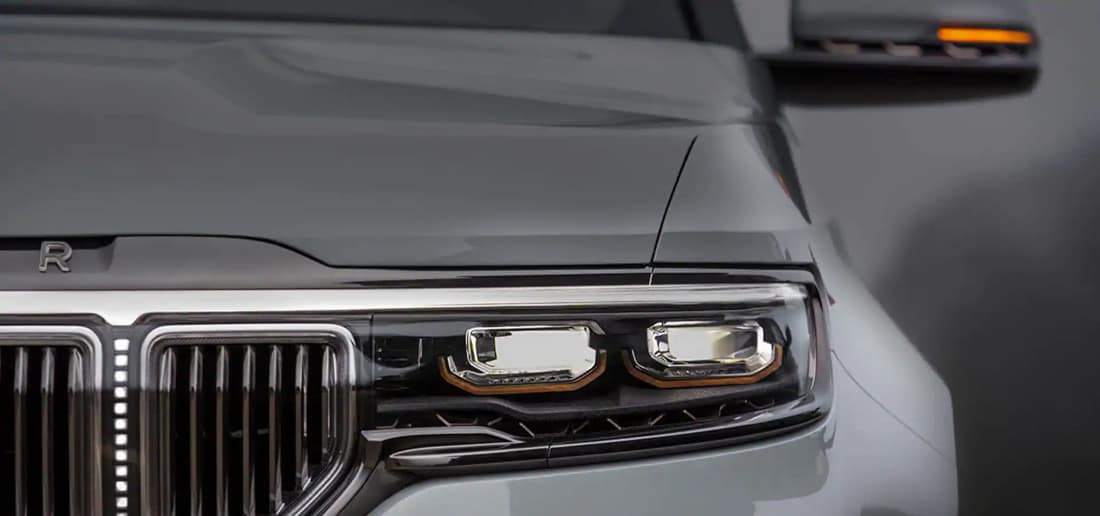 Grand Wagoneer Front End