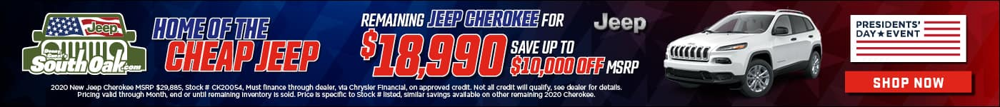 Home of the Cheap Jeep