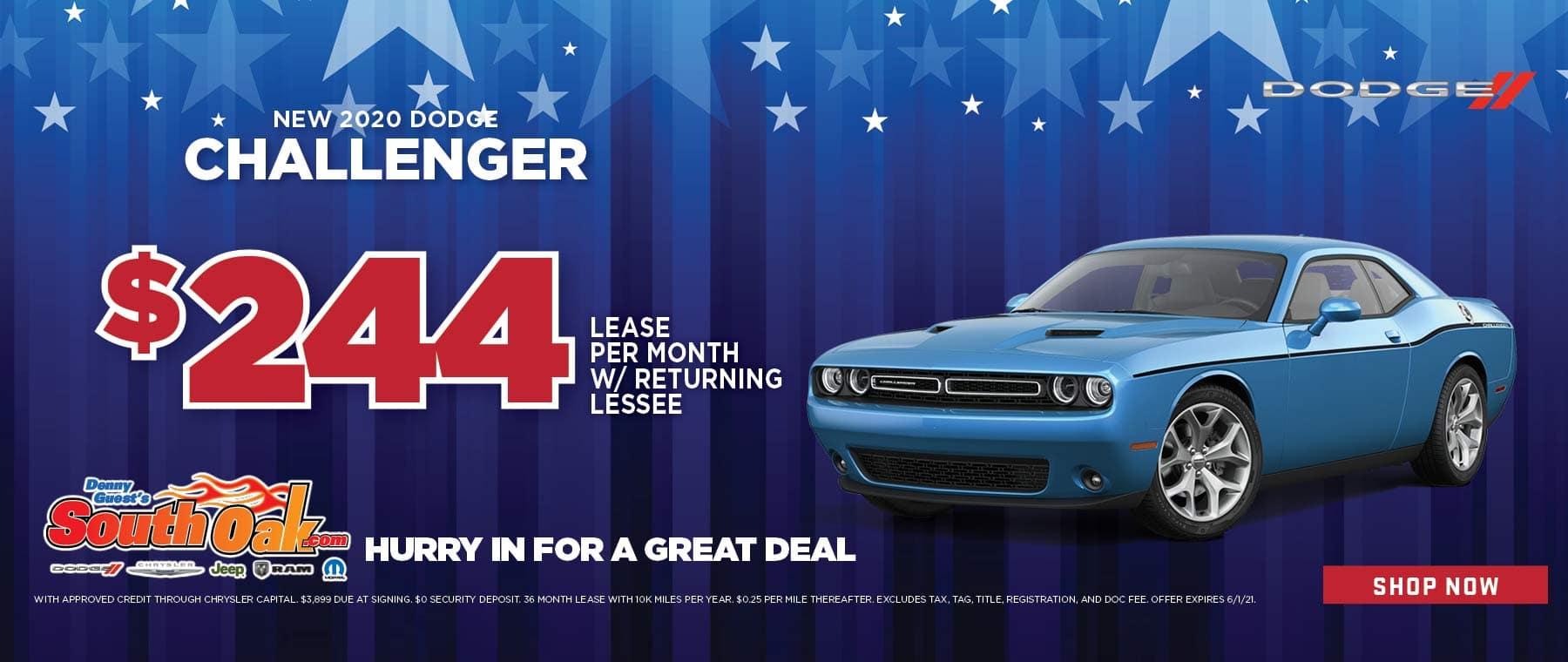 2020 Dodge Challenger Sale