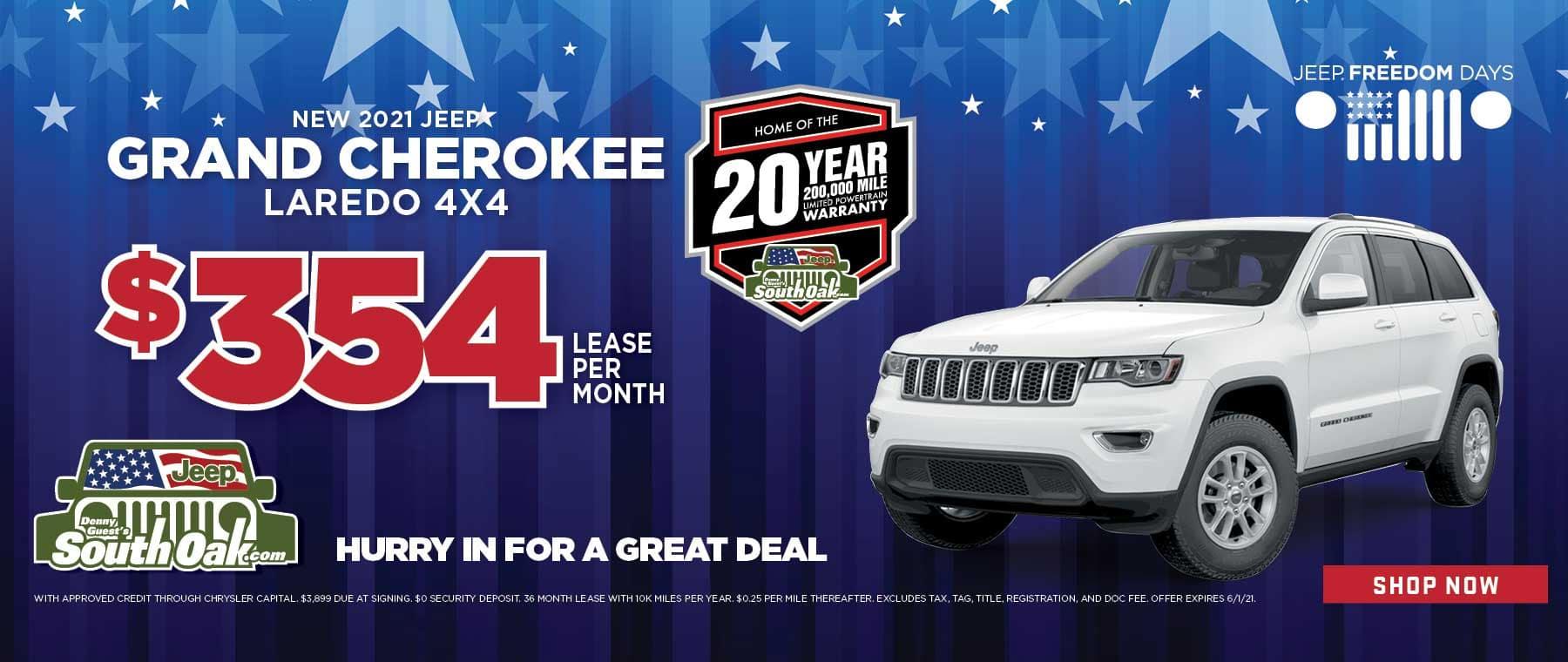 2021 Jeep Grand Cherokee Sale