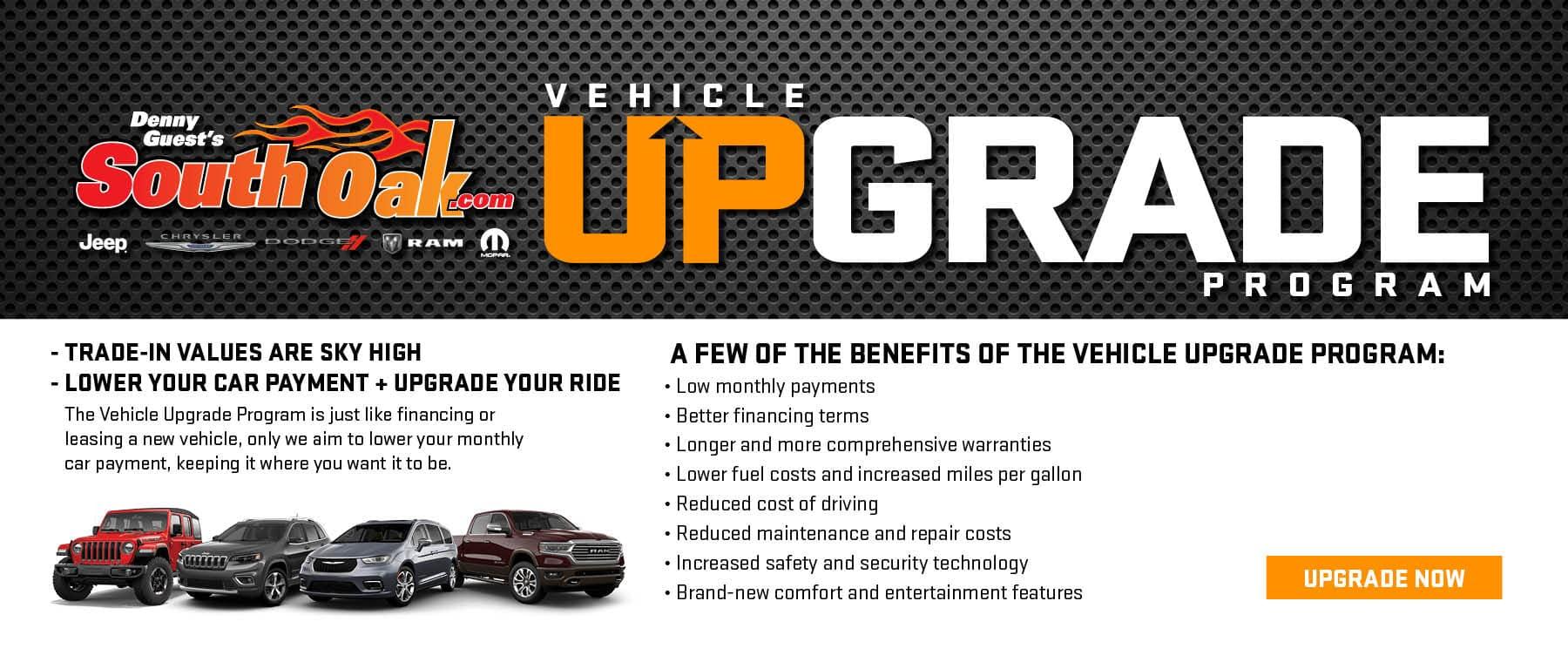 Vehicle Trade-In Upgrade Program