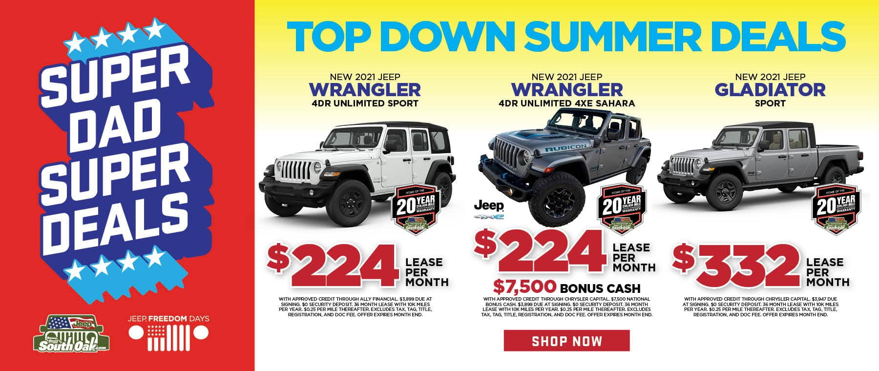 2021 Jeep Wrangler Lease Deal