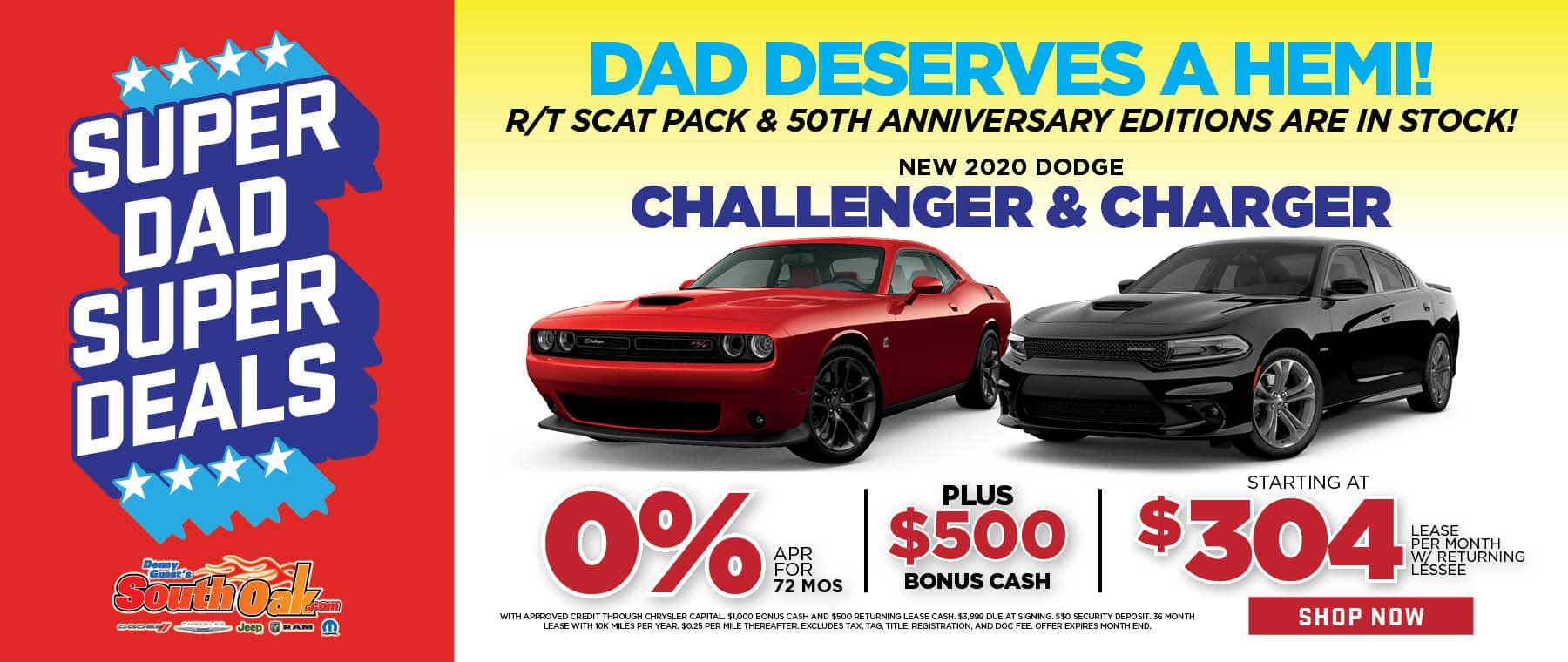 Dodge Father's Day Special