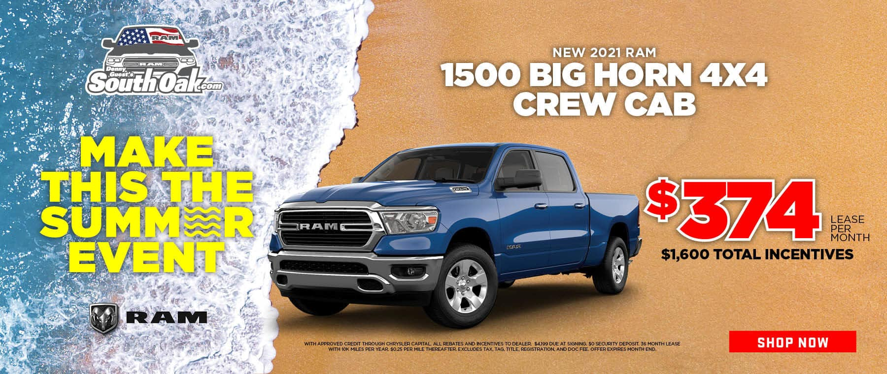 2021 1500 Big Horn Deal