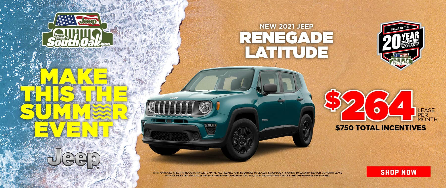 2021 Jeep Renegade Lease Deal