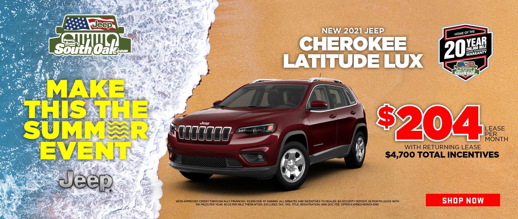 2021 Jeep Cherokee Special