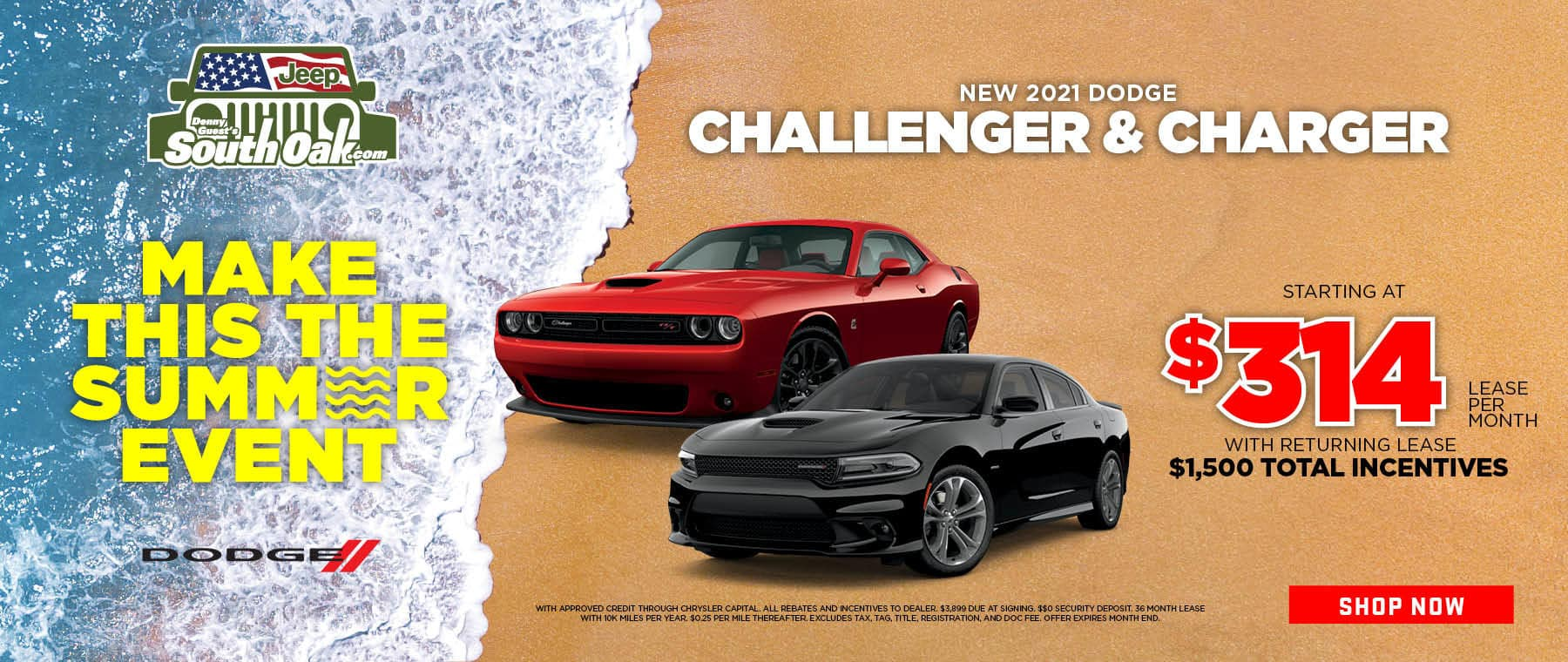 2021 Dodge Challenger and Charger Special