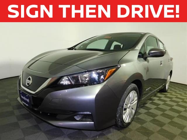 New 2019 Nissan Leaf S FWD 4D Hatchback