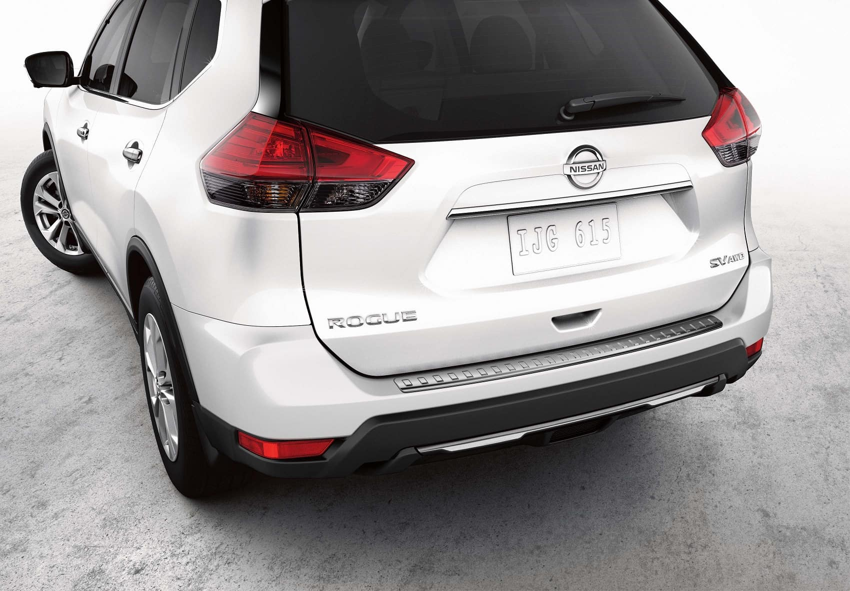2019 Nissan Rogue Rear End