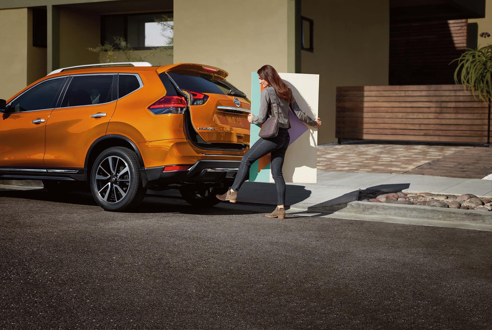 Nissan Rogue Monarch Orange