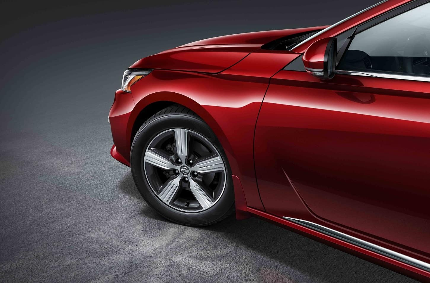 Nissan Altima Scarlet Ember