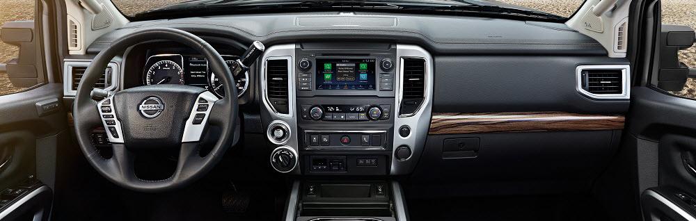2019 Nissan Titan Interior Technology