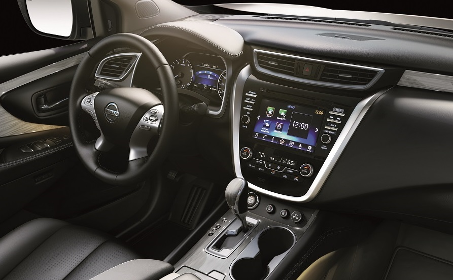 Nissan Murano Interior Technology