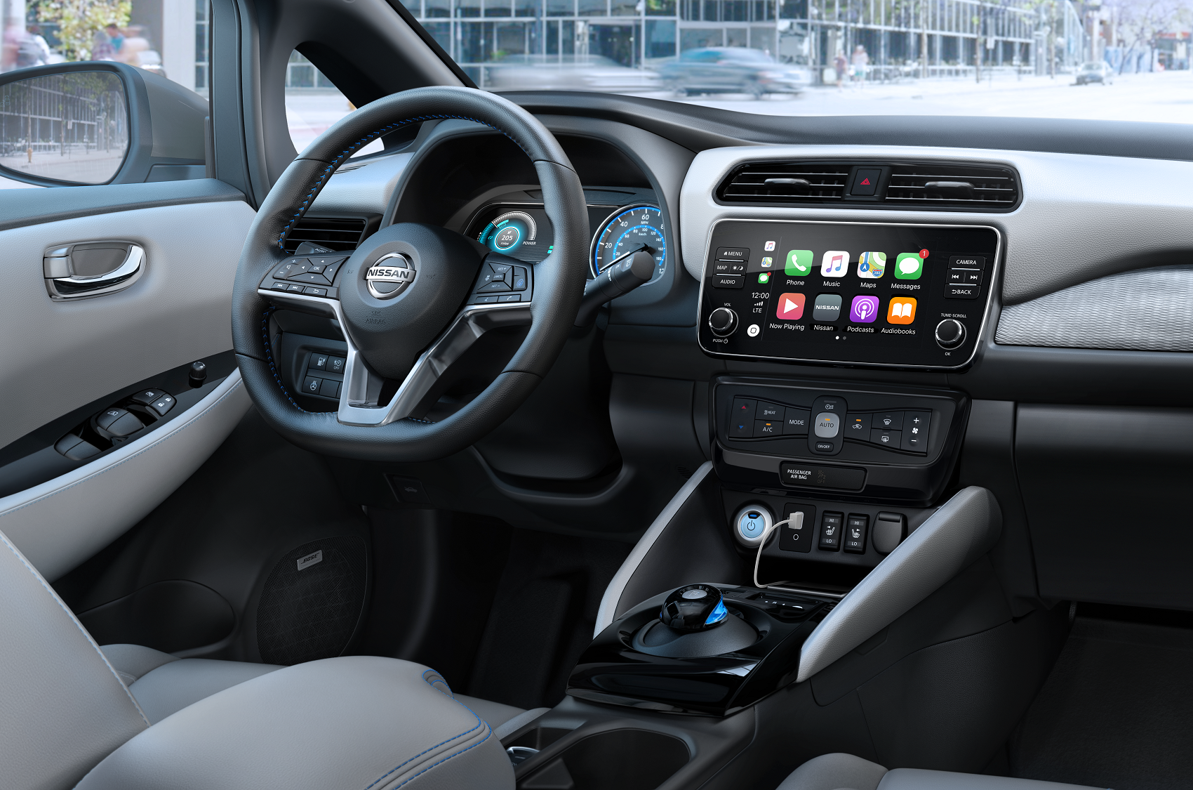 2019 Nissan LEAF Interior Technology