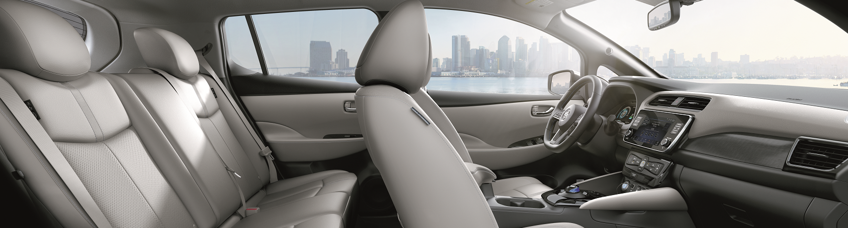 2019 Nissan LEAF Interior Space