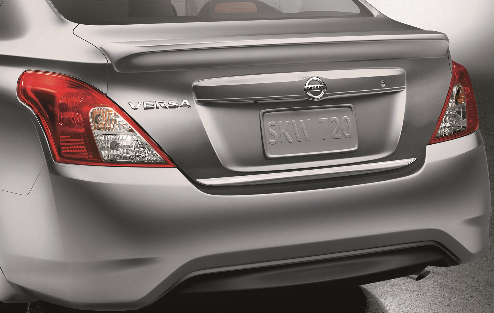 2019 Nissan Versa Rear End