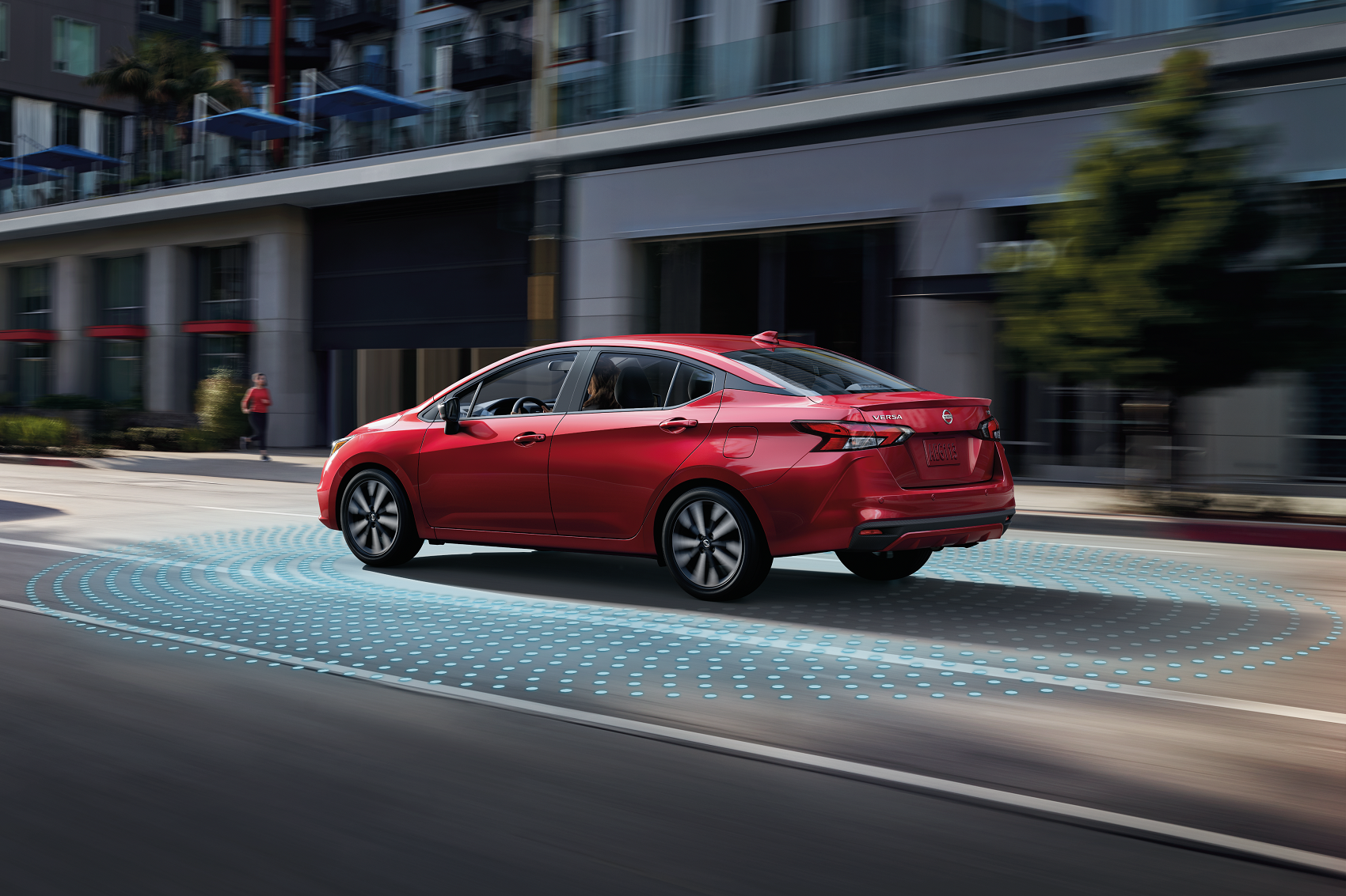 2020 Nissan Versa Safety Options