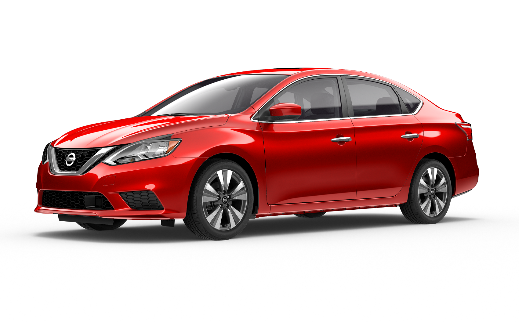 Nissan Sentra Red