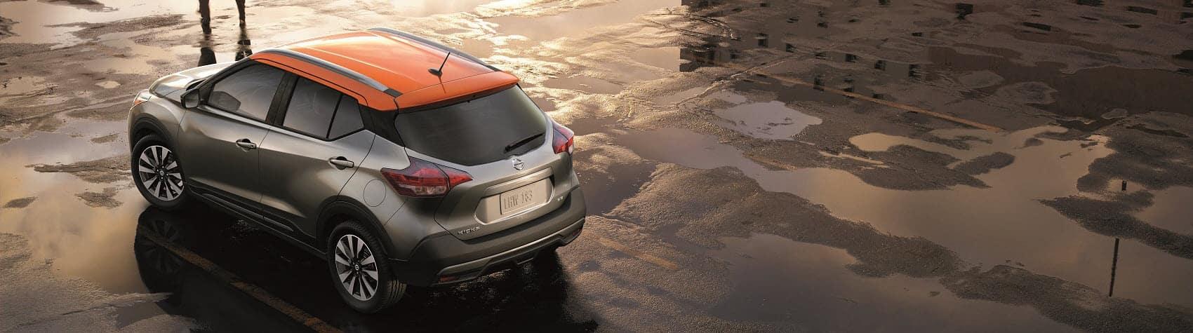Nissan Kicks Orange