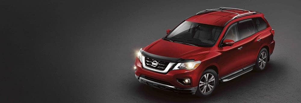 Nissan Pathfinder Red