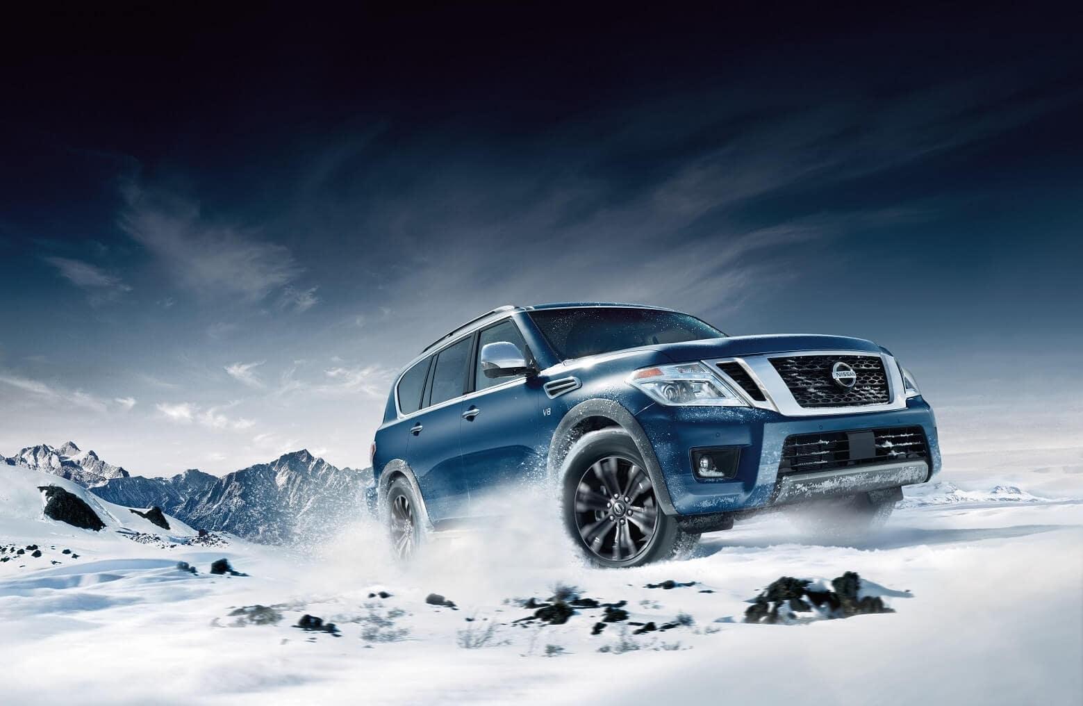 Nissan Armada Off-Roading