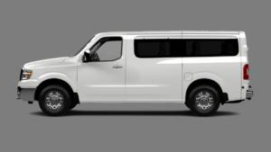 2019 NV Passenger - Glacier White
