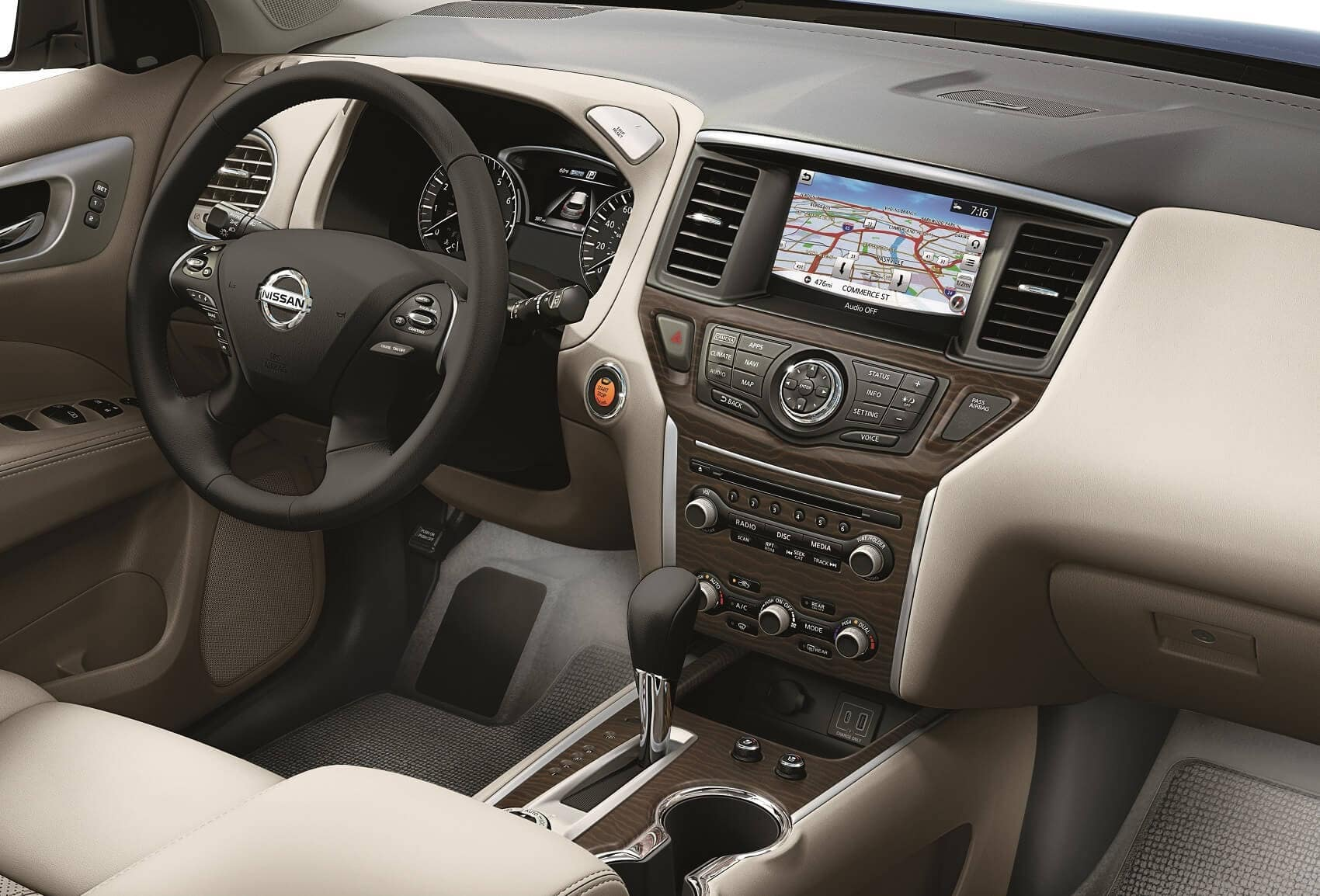 2019 Nissan Pathfinder Interior Technology