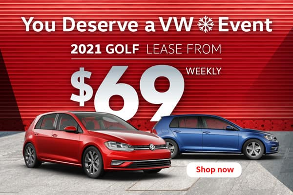 You Deserve a VW Event