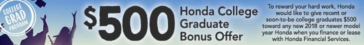 college grad offer banner