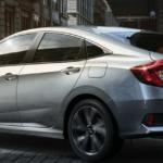 2020 Honda Civic LX trim level banner image