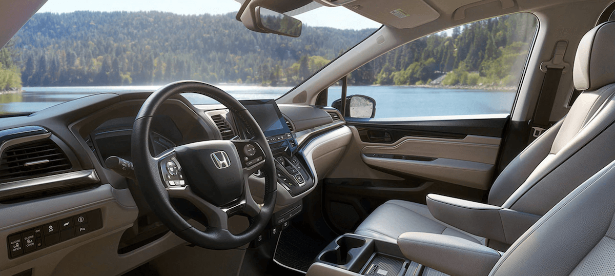 2021 Honda Odyssey Dashboard and Front Seating Banner