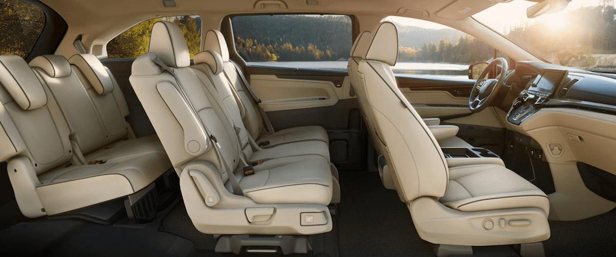 2021 Honda Odyssey Interior Seating Banner