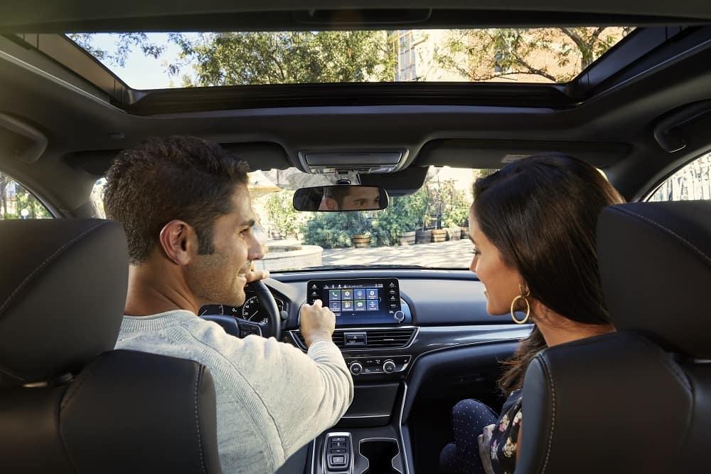 Driving a Honda Accord