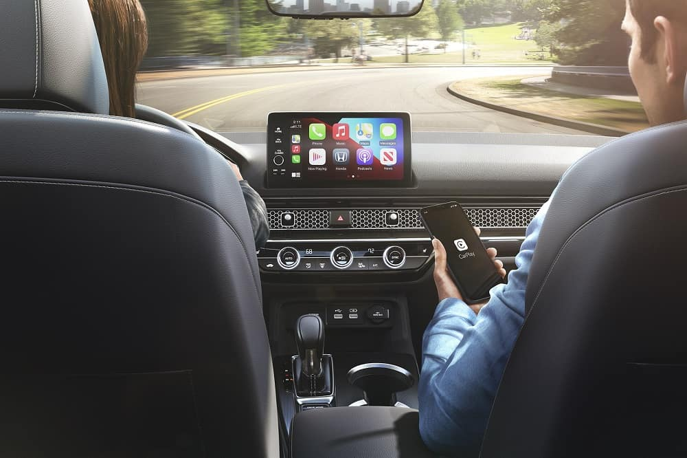 2022 Honda Civic Interior with Apple CarPlay®