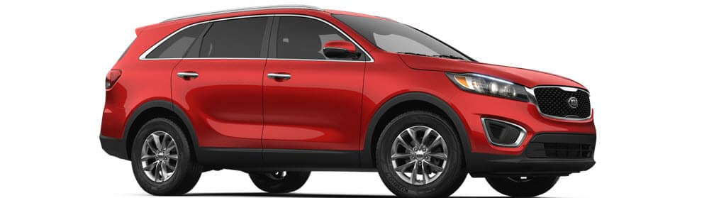 2018 Kia Sorento Remington Red
