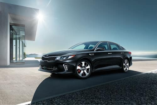 2018 Black Kia Optima