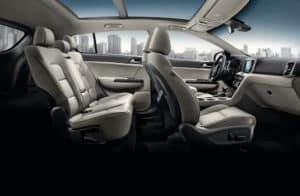 2019 Kia Sportage Interior view