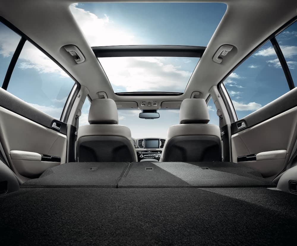 2020 Kia Sportage interior & cargo
