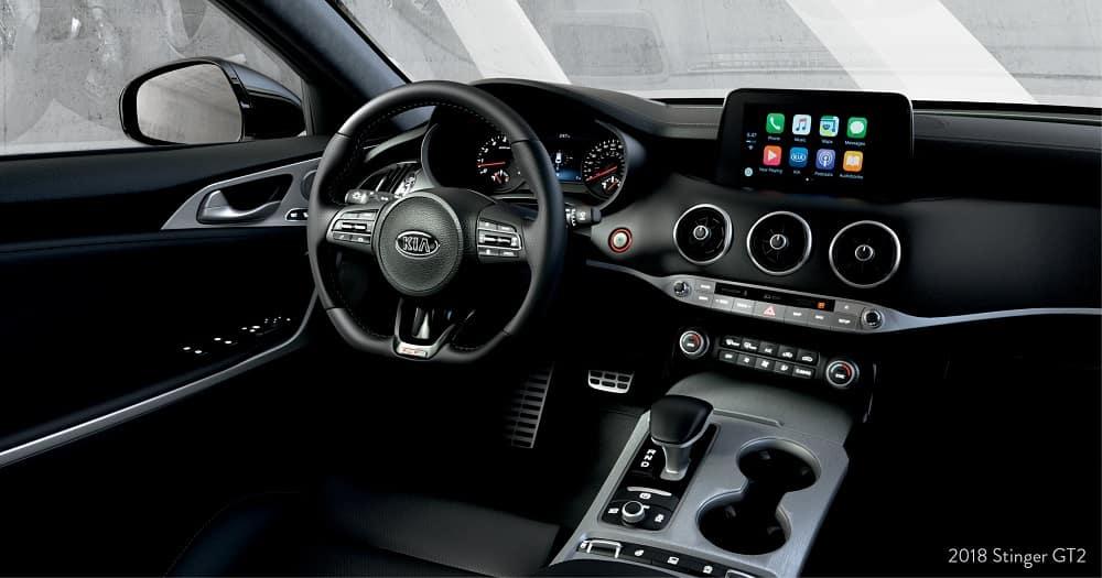 2019 Kia Stinger Black Interior