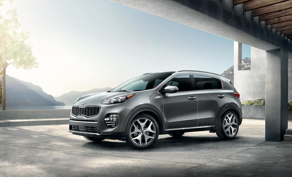 2020 Kia Sportage in Steel Gray