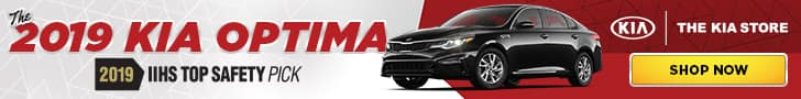 2019 Kia Optima Banner Ad